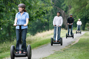 Segway Rentals are great for off road